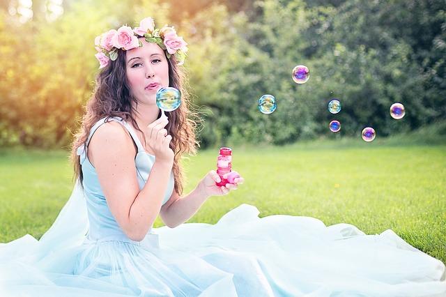 vyfukování bublin