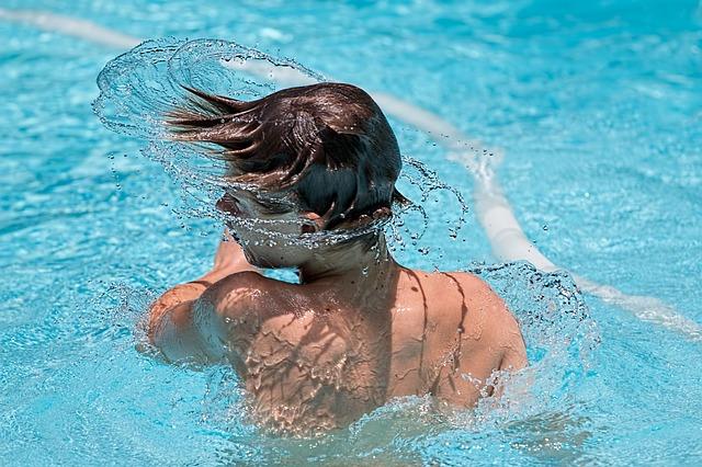 voda ve vlasech