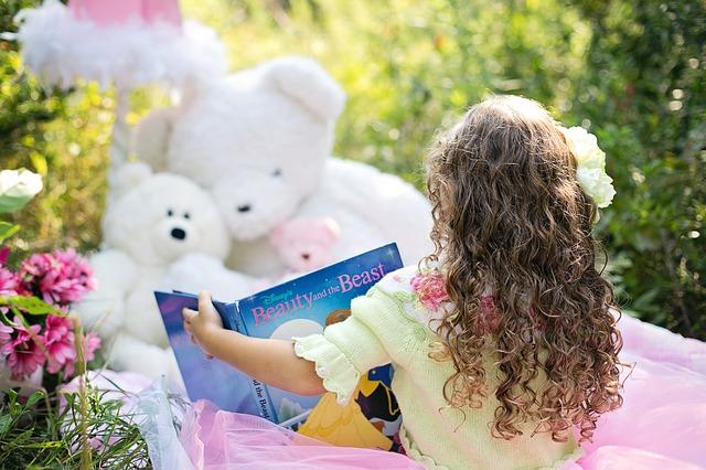čtení pro medvídky