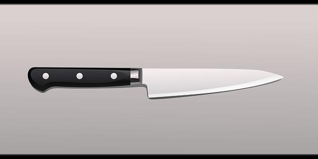 klasický ostrý nůž